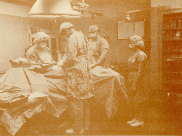 Carthage Area Hospital operating room team at work in Carthage