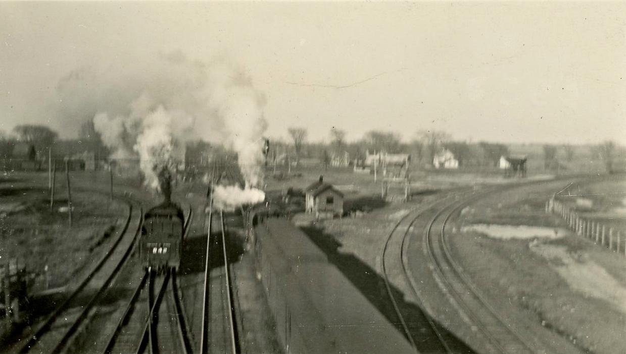 New York Central Rail Yards In Philadelphia