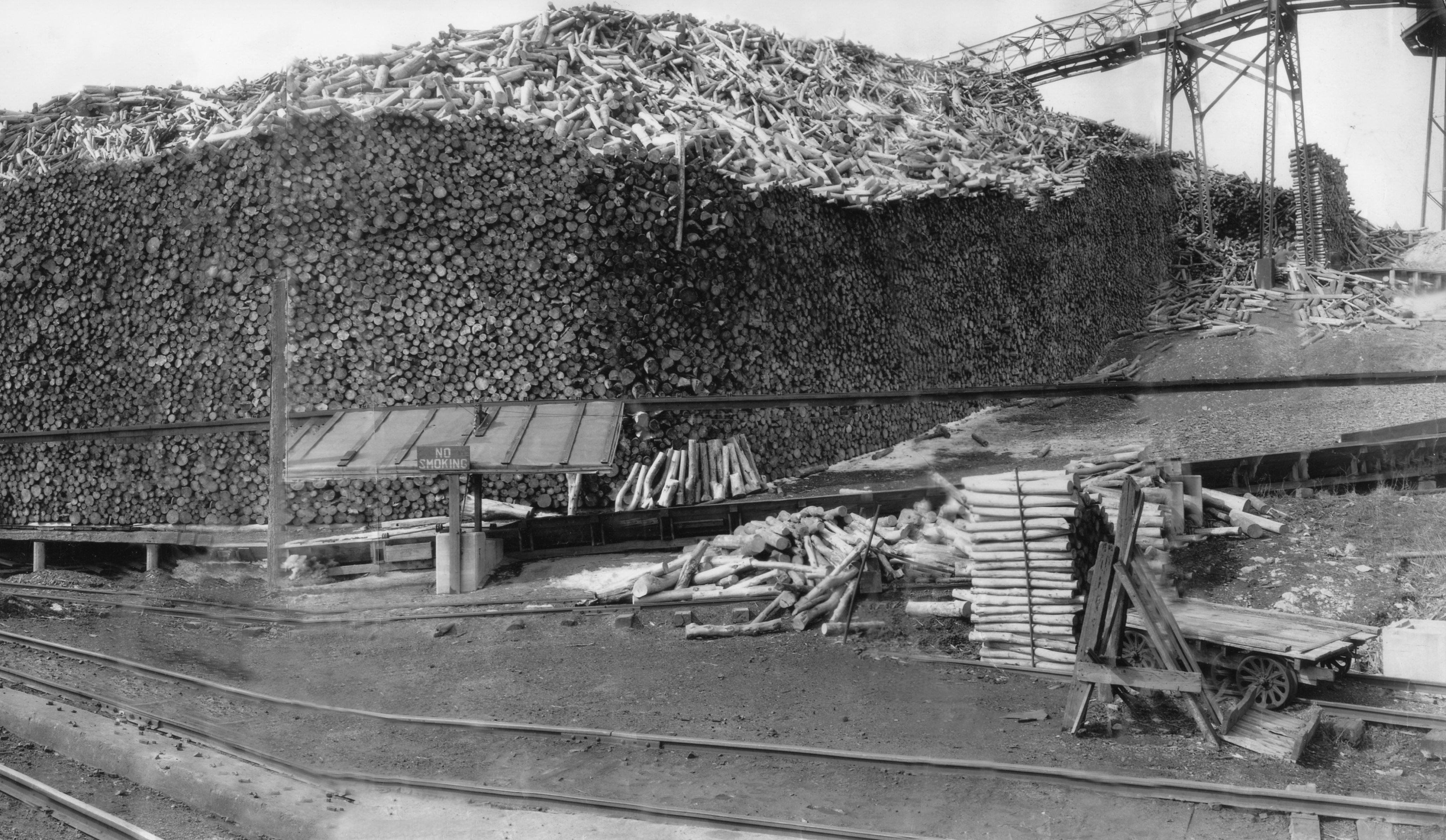 Dexter Sulfite Paper Mill In Dexter