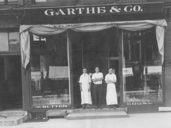 Garthe and Company grocery in Carthage