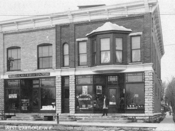 Balmat and Brayton stores in West Carthage
