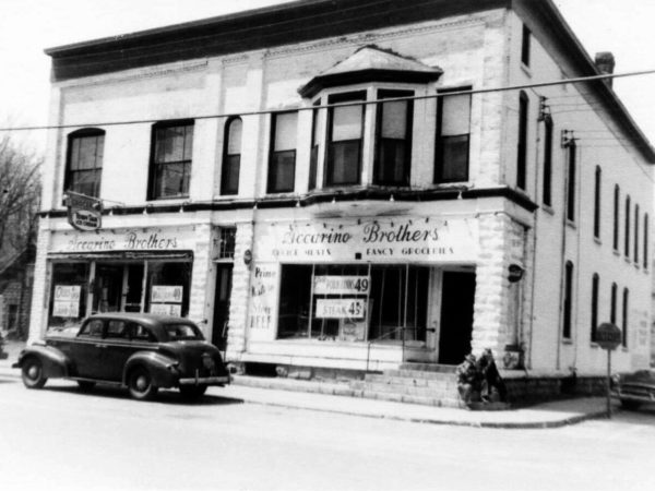 The Accarino Brothers grocery meat market in West Carthage
