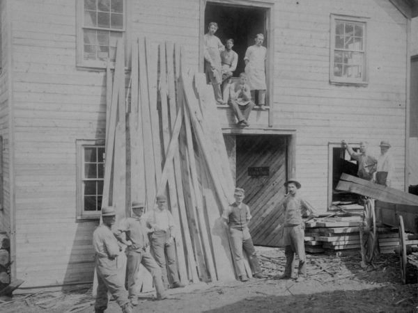 Meyer & Ross Furniture Factory workers in West Carthage