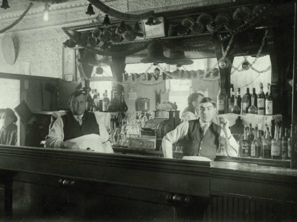 Inside Marquette's Bar in Carthage