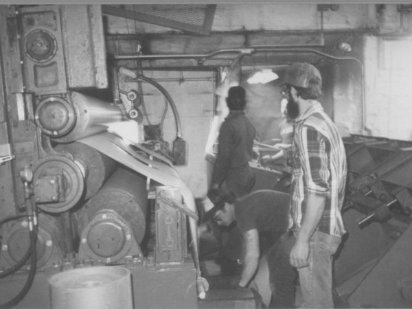 Workers at the Climax plant in Carthage