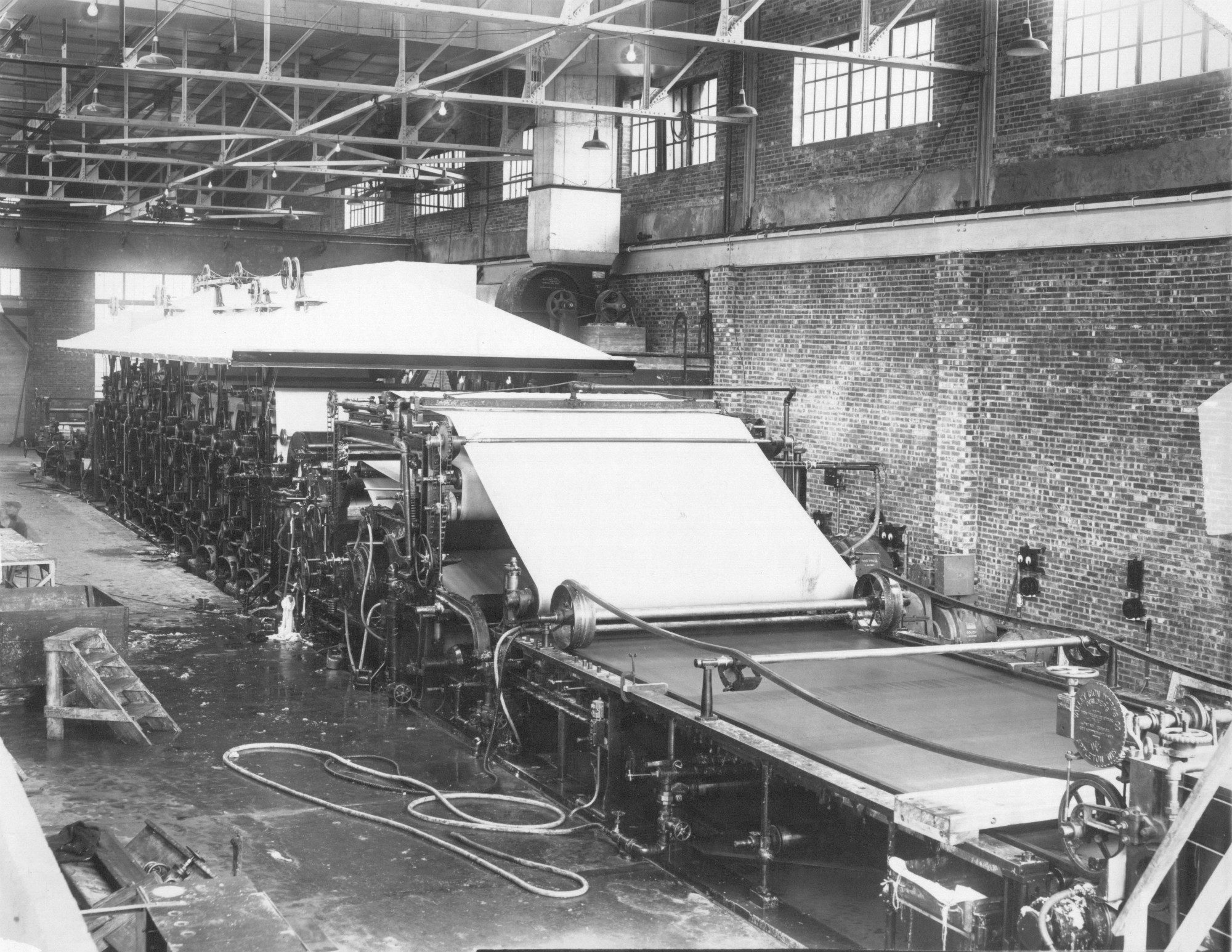 National Paper Products paper mill in Carthage |