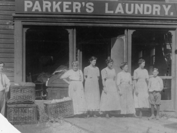 Parker's Laundry in Carthage