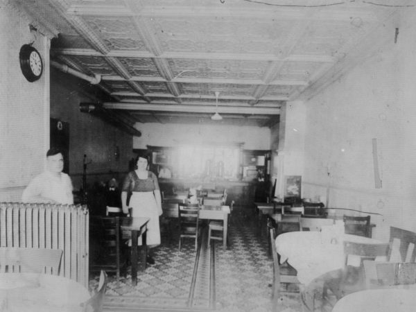 Restaurant interior in Carthage