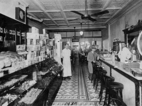 Kandyland confectionary shop interior in Carthage