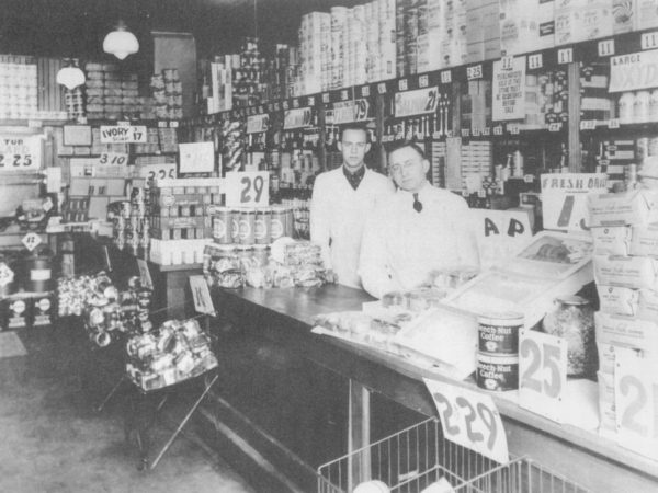Inside the A& P Grocery Store in Carthage