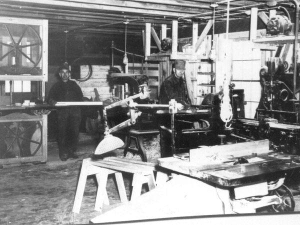 Paper mill machine shop in Carthage