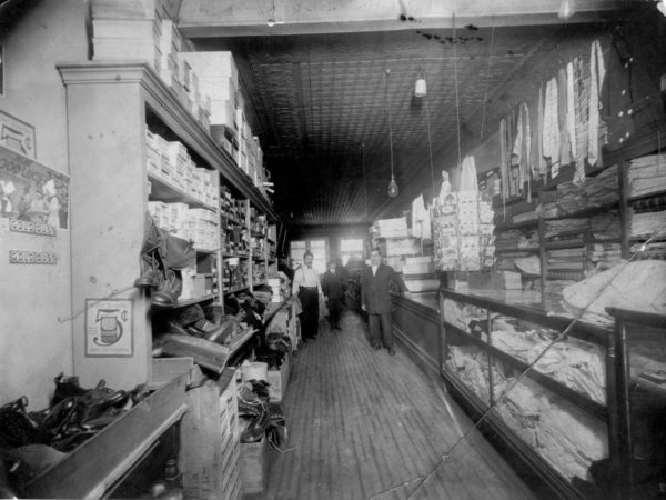 Interior of Nolands Dry Good Store in Carthage