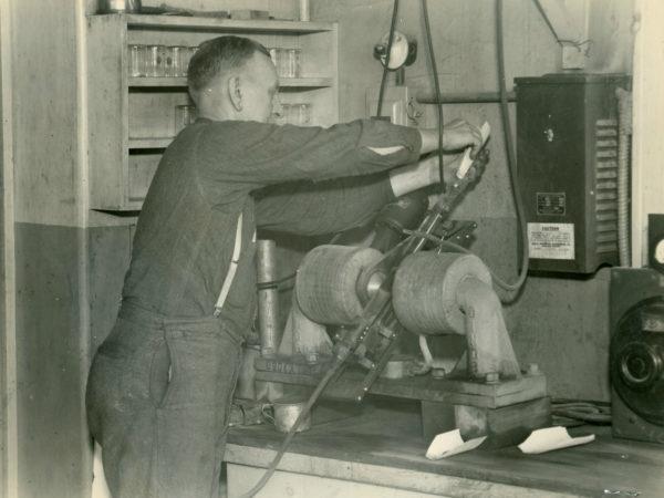 Ivan Scott at the Jones & Laughlin Steel Corporation in Benson Mines