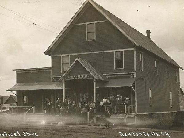 Post Office and General Store in Newton Falls