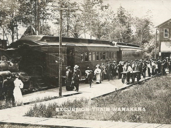 The Excursion Train in Wanakena