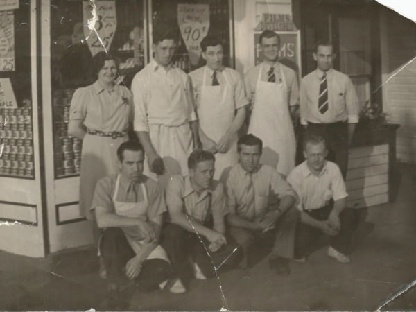 Employees of Given's Store in Cranberry Lake