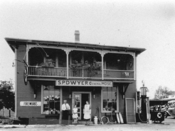 S. P. Dwyer General Merchandise exterior in Lisbon