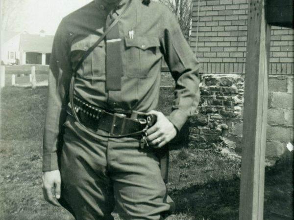 NYS Police Captain A.P. O'Neill in Lisbon