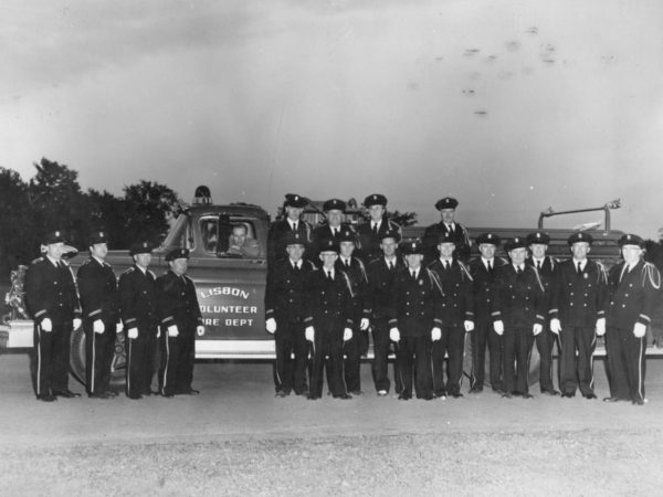 Lisbon Volunteer Fire Department in 1959