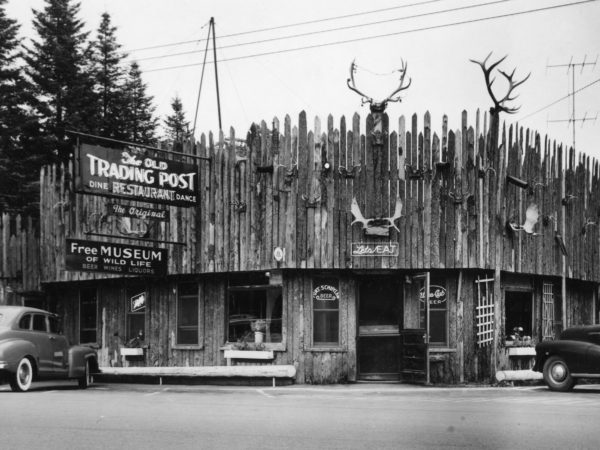 Trading Post exterior in Eagle Bay
