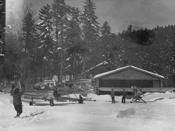 Adirondack Air Service hangar in Big Moose