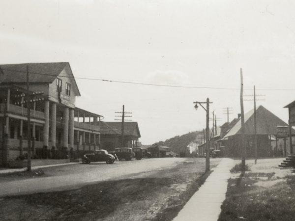 Main Street in Thendara