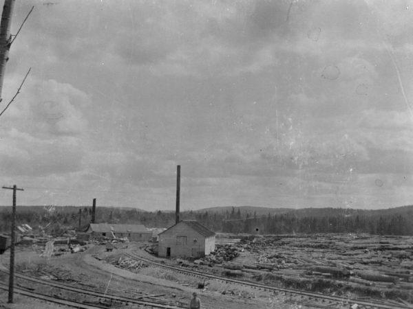 Sawmill in Beaver River