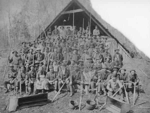 Lumberjack Camp in Moose River