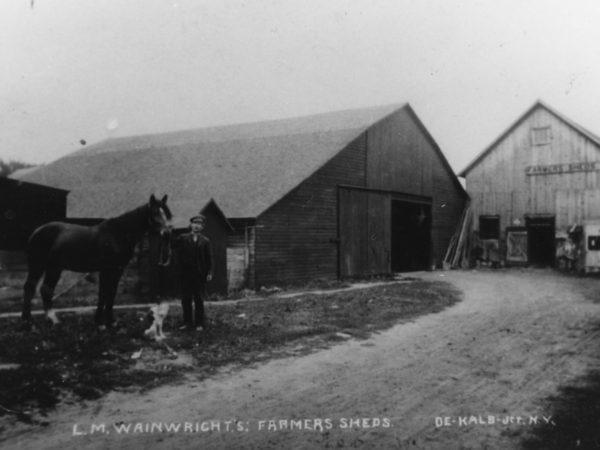 L.M. Wainwright's Farmers Sheds in De Kalb Junction