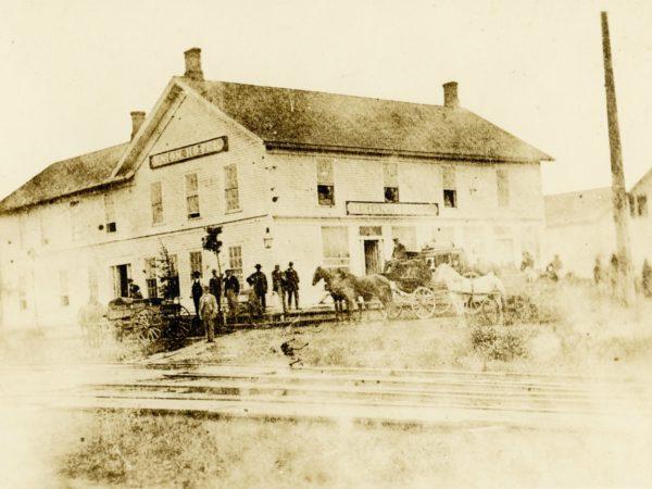 The Union Hotel in De Kalb Junction