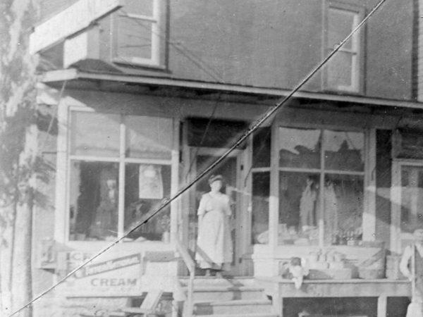Exterior of the Walrath General Store in De Kalb Junction