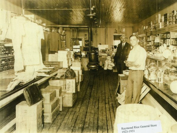 Raymond Rice General Store, De Kalb Junction