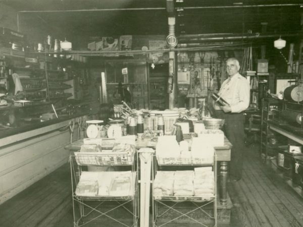 Ara Spencer's General Store in De Kalb Junction
