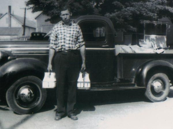 Delivering milk in DeKalb Junction C