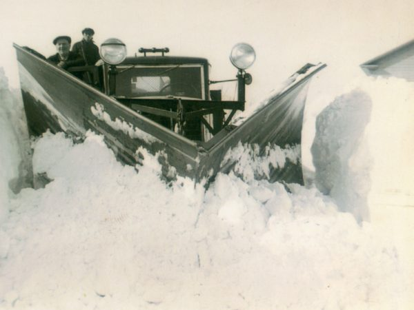 Snowplowing in the Town of De Kalb