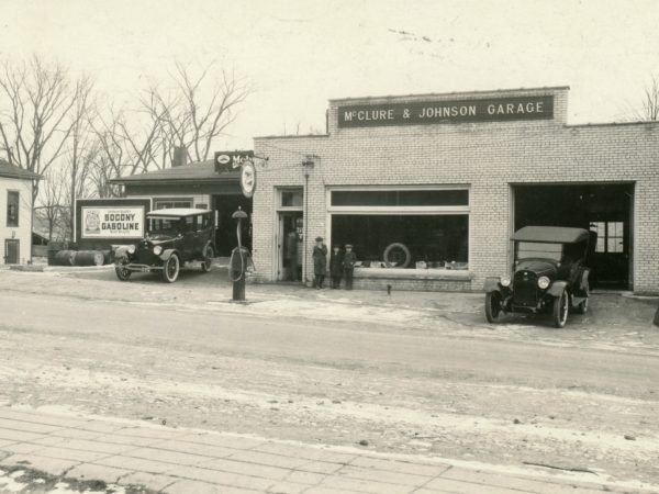 McClure and Johnson's Garage in Richville