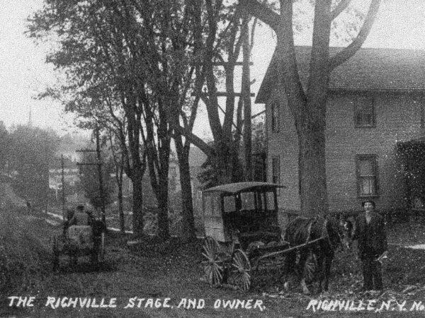 Stagecoach owner in Richville