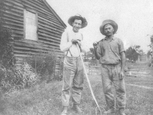 Farm workers in the Town of DeKalb