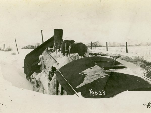 Snowplow and passenger train collision in the Town of De Kalb 1