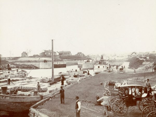 Early Locks on the St. Lawrence River