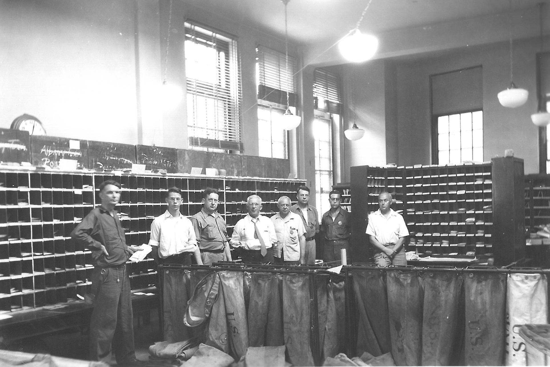 Post Office Interior In Canton