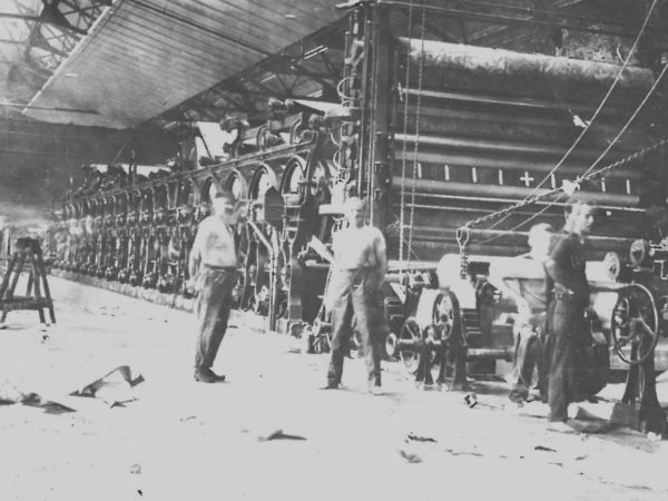 Inside the Grasse Paper Company Mill in Pyrites