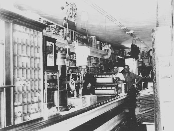 Inside the Clark General Store in Crary Mills
