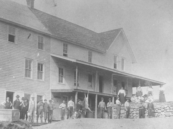 Exterior of Cook's Hotel in Colton