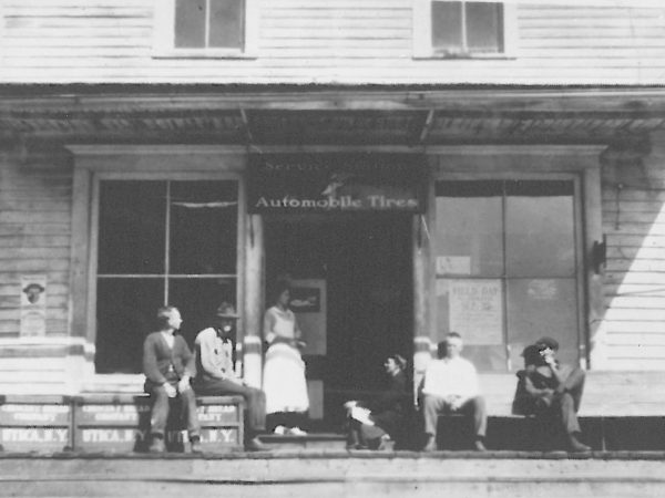 Exterior of the W.M. Whittakers Store in Fine