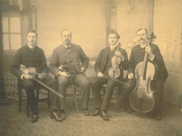 The Union Hall String Quartet in Gouverneur