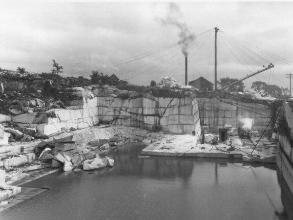 Marble quarry in Gouverneur
