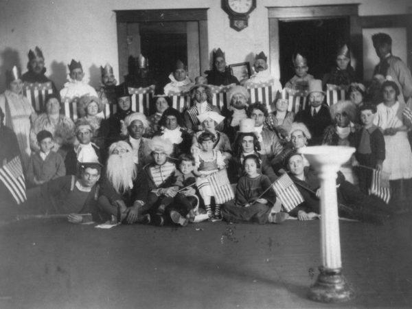 ALCOA employees at a citizenship class in Ogdensburg