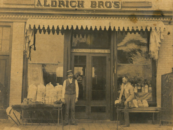 Aldrich Brothers storefront in Canto
