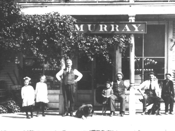Exterior of Murray Dry Goods Store in Brasher